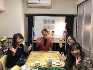 山田ありす事務所トリン先生タロット講座風景