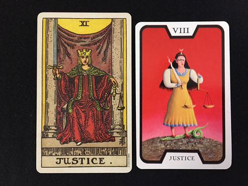 魔女のタロット(正義)
